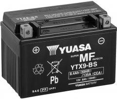 Мото аккумулятор Yuasa 12V 8Ah MF VRLA Battery YTX9-BS (сухозаряжений) (YTX9-BS)