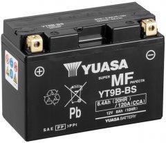 Мото аккумулятор Yuasa 12V 8Ah MF VRLA Battery AGM YT9B-BS (сухозаряжений) (YT9B-BS)