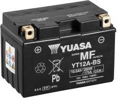 Мото аккумулятор Yuasa 12V 10Ah MF VRLA Battery YT12A-BS (сухозаряжений) (YT12A-BS)