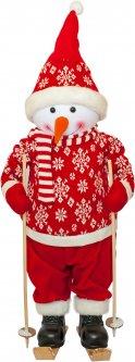 Фигурка Time Eco Веселый снеговик 82 см Красная (4820211100438)