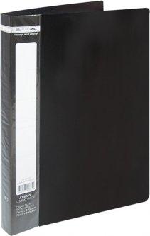 Папка пластиковая Buromax A4 40 файлов Черная (BM.3616-01)