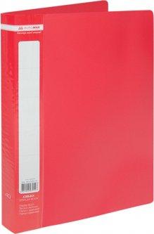 Папка пластиковая Buromax A4 40 файлов Красная (BM.3616-05)