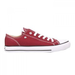 Кеди Dunlop Canvas Low Top Trainers Burgundy, 43 (280 мм) (10080176)