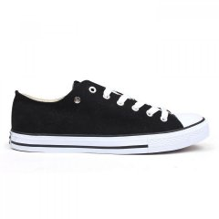 Кеди Dunlop Canvas Low Top Trainers Black, 42 (10080171)