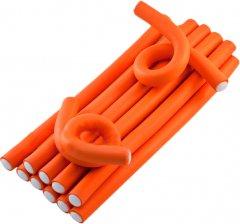 Гибкие бигуди Hairway 250 х 17 мм 12 шт Оранжевые (41171) (4603911004714)