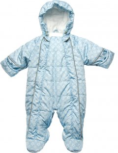 Зимний комбинезон Модный карапуз 03-00820 74 см Голубой (4823617903825)