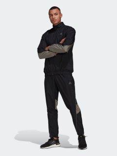 Спортивный костюм Adidas M Metallic Ts GT3090 S Black (4064044003829)