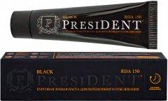 Зубная паста PresiDENT Black Черная 50 мл (4605370017243)