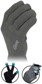 Перчатки iGlove для сенсорных экранов Dark Grey (iGlove DGrey)