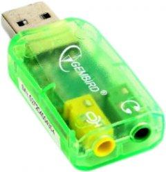 Переходник для наушников Cablexpert SC-USB-01