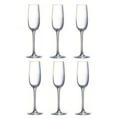 Набор бокалов для шампанского Luminarc Allegresse 175 мл 6 шт (J8162/1)