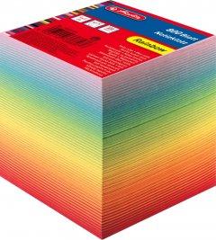 Бумага для заметок Herlitz Rainbow 90х90 мм 800 листов склеенная Цветная (10901973)