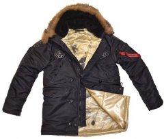 Куртка зимова Аляска Top Gun black XL чорний