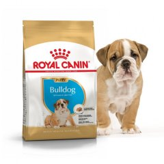 Сухой корм для собак породы бульдог Royal Canin BULLDOG PUPPY для щенков до 12 мес.