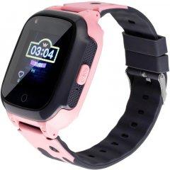 Дитячий годинник-телефон Gelius Pro Care GP-PK004 Pink (2099900823671)