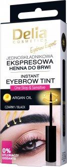 Краска для бровей Delia Cosmetics Экспресс 1.0 Чёрная 6 мл (5901350469729)