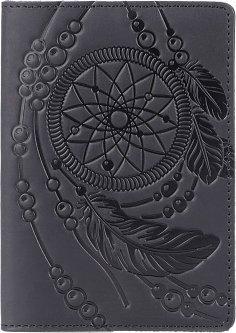 Обложка для паспорта Shvigel 13837 Черная