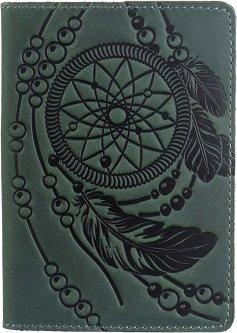 Обложка для паспорта Shvigel 13836 Зеленая
