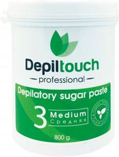 Сахарная паста для депиляции Depiltouch Professional средняя 800 г (4630010605658)