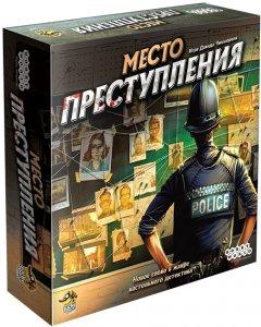 Настольная игра Hobby World Место преступления (4630039150429)