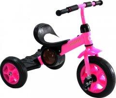 Велосипед трехколесный Crossride Smart-Trike T102 Розовый (0469)