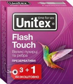 Презервативы Unitex Flash Touch 4 шт (798190041117)