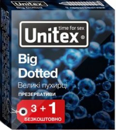 Презервативы Unitex Big Dotted 4 шт (798190041124)