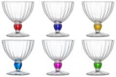 Набор креманок Luminarc Quadro Rainbow 250 мл из 6 предметов (N3056)
