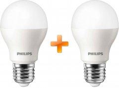 Лампа светодиодная Philips LED Bulb A60 12W E27 3000K 2шт (9290019549072)