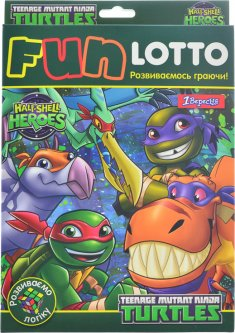 Настольная игра 1 Вересня Fun Lotto TMNT Dino (4823099536955)