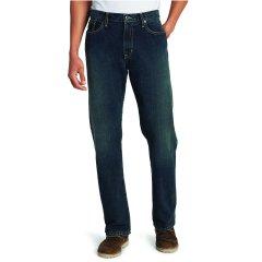 Джинсы Eddie Bauer Men Authentic Jeans Relaxed Fit LONG DK HERITAGE 34-34 Синие (5508DKH-34W 34L)