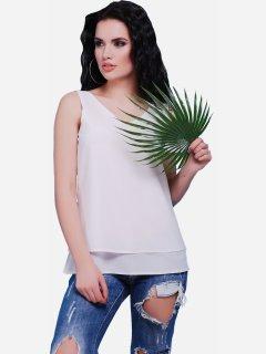 Блуза Fashion Up Maya BZ-1489C 46 Белая (2000000142609)