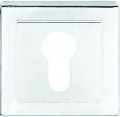 Накладка на цилиндр Condi Collection квадратная Хром (40630462)