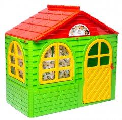 Детский игровой домик Active Baby Зелено-красный 129 х 69 х 120 см (01-01550/0301) (4822003280366)