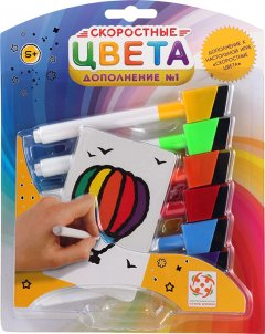 Настольная игра Стиль жизни Скоростные цвета: Дополнение 1 (Speed Colors: Booster pack 1) (321818) (4650000321818)