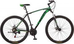 "Велосипед CrossBike Leader 19.5"" 27.5"" 2019 Black/Dark-Green/Green (27CJPr19-59)"