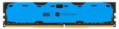 Оперативная память Goodram DDR4-2400 16384MB PC4-19200 Iridium Blue (IR-B2400D464L17/16G)