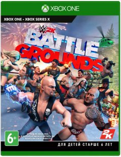 Игра WWE Battlegrounds для XBOX One