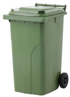Мусорный контейнер Jcoplastic 580 х 1050 х 705 мм 240 л Зеленый (J0240 GNGN)
