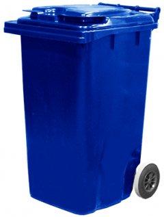 Мусорный контейнер Jcoplastic 580 х 1050 х 705 мм 240 л Синий (J0240 BEBE)