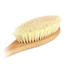 Щетка для сухого массажа Maldives Dreams из листьев агавы Большая с ручкой (4601771615002)