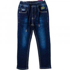 Джинси для хлопчика на флісі TAURUS B09 116 см темно-синій джинс (444120)