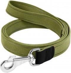 Поводок Collar х/б тесьма 35 мм 500 см Зеленый (0511)