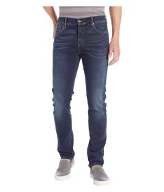 Джинси 7 For All Mankind Luxe Performance Adrien Slim Tapered Lone Wolf in Blue, 30W R (10154721)