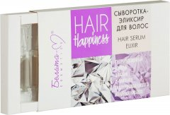 Сыворотка-эликсир Белита-М Hair Happiness в ампулах 8 шт х 5 мл (4813406005441)
