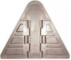 Блокиратор для шкафа-купе 3М Темно-коричневый (3М-008 т.коричн)