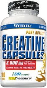 Креатин Weider Pure Creatine Caps 100 капсул (4044782317419)