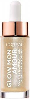 Хайлайтер для лица L'Oreal Paris жидкий Glow Mon Amour 1 Шампань 15 мл (3600523560899)