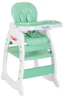 Стульчик для кормления 2 в 1 Bambi Зеленый (M 3612-5 green) (6903180074011)