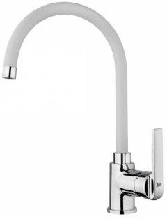 Смеситель кухонный TEKA Inca H 53995120FW хром/гранит белый
